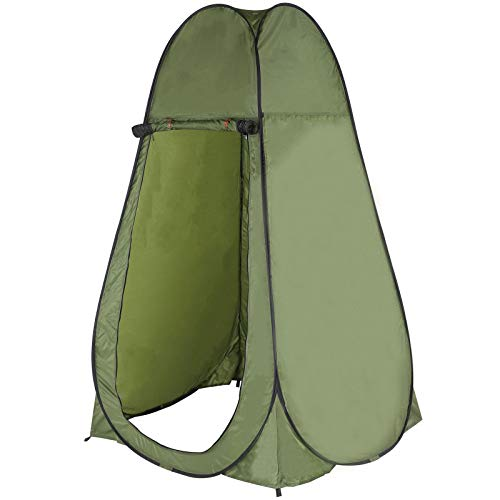 ColdShine Changing Tent Room Portable Outdoor Instant Pop Up Shower Privacy Camping Toilet Beach Changing Room for Outdoor Changing Dressing,Sun Sunshade Outdoor Backpack Shelter Canopy,Army Green