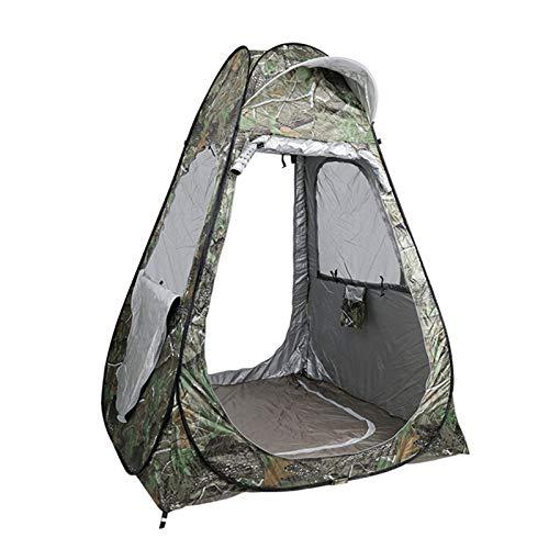 ALLWIN Tienda de Privacidad de Ducha Portátil, Cuarto de Baño Emergente para Acampar Refugio para Vestirse al Aire Libre Carpa de Fotografía Plegable Refugio de Lluvia para Pesca 150X150x190cm,Verde