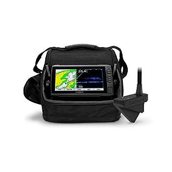 Garmin Panoptix LiveScope Ice Fishing Bundle Includes ECHOMAP UHD 93sv Combo and Panoptix LiveScope Sonar Transducer
