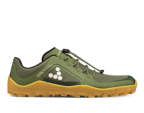 Vivobarefoot Primus Trail II SG, Womens Recycled Breathable Mesh Off-Road Shoe with Barefoot Soft Ground Sole