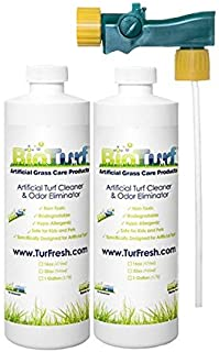 BioTurf BioS+ 32oz Dual Pack Turf Concentrate Cleaner - Buy 1 get 2nd on 1/2 Off Plus. Commercial Grade Artificial Turf Cl...