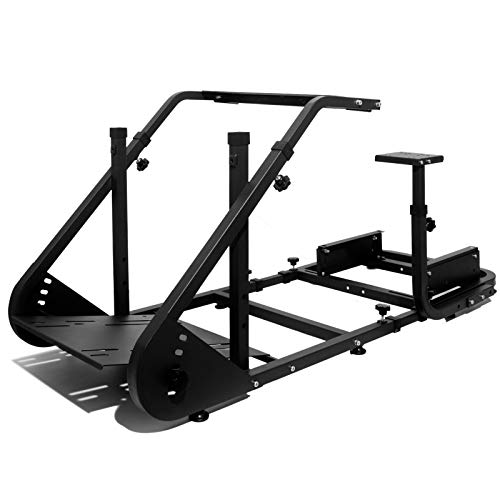 Marada Racing Cockpit Frame Suitable for G25 G27 G29 G920 Without Wheels Pedals...