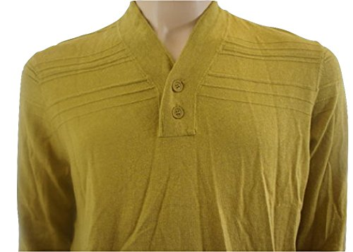 Ted Baker - Pull - - Uni Homme Jaune Moutarde