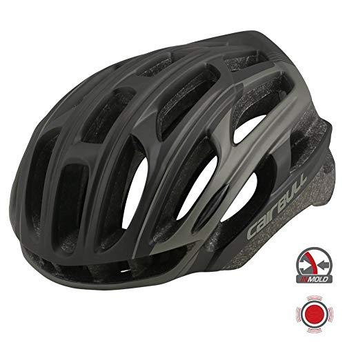 QueenHome Fahrradhelme für Erwachsene, Fahrradhelm Verstellbarer sicherer Fahrradschutz Helmbelüftung Motercycle Kopfbedeckung