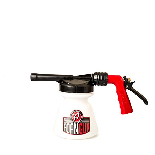 Adam's Standard Foam Gun - Use with Any Car Wash Soap & Garden Hose for Thick Suds -...