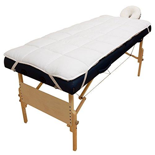 Body Linen Abundance Deluxe Quilted Fleece Massage Table Pad Set