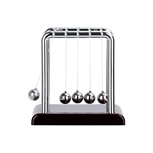 Taghua Newtons Cradle Magnetic Balls for Adults Stress Relief, Newton Ball Physics Science Pendulum Steel Balance Ball Desk Toy Home Decoration