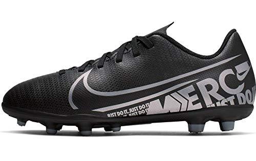 Nike Herren Vapor 13 Club Fg/Mg Fußballschuhe, Schwarz Black MTLC Cool Grey Cool Grey 001, 36 EU