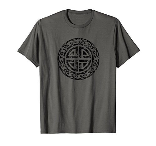 Vintage Protection Shield Knot Celtic Norse Viking T-shirt