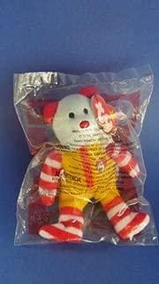 Ty Teenie Beanie Babies - Ronald McDonald the Bear - 25th Anniversary - Still in Bag