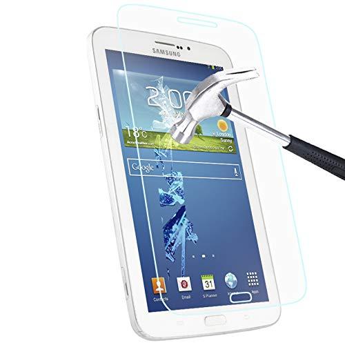 Zhangli Cajas del teléfono Película de Vidrio Templado de 0.4mm, dureza Superficial de 9H y Borde de Arco de 2.5D a Prueba de explosiones para Samsung Galaxy Tab 3 7.0 / P3200 Cajas del teléfono