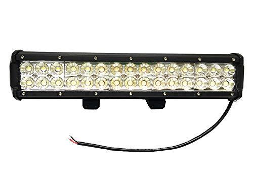 Leetop 90W LED Phare de Travail Noir Feux WorkLight Spot LED Phares de Voiture Tout-terrain Supplémentaires l'éclairage des Travaux tout-Terrain
