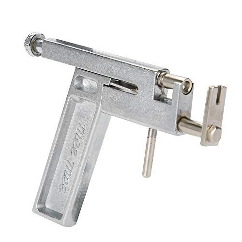 Professionelle Edelstahl-Ohr-Piercingpistole für Ohr, Nase, Bauchnabel, Körper-Piercing, Werkzeug mit Marker und Mini-Spiegel