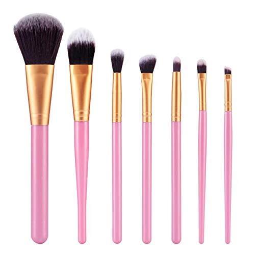 GONGFF Maquillage Multifonctionnel Pinceau Fard à paupières pinceaux Outil de Maquillage pinceaux cosmétiques Fondation Pinceau Plat