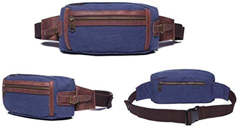 HUAIX Home Herren Gürteltasche Brusttasche Outdoor Sports Schulter Messenger Rucksack Rucksack Rucksack (Blau) B07L4N9NBF  Ausreichende Versorgung b4b3a1