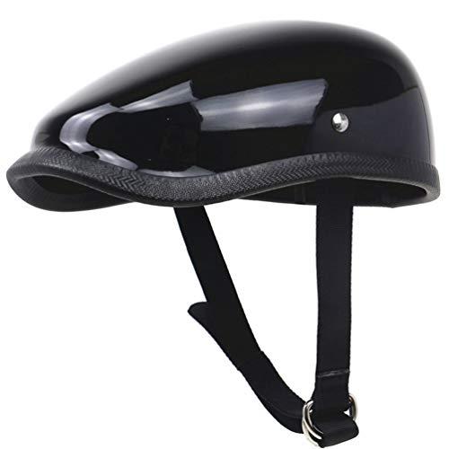 Japanischen Stil Retro Motorrad Helm Licht Fiberglas Halbe Helme Erwachsene Komfort Sicherheit Berets Fahrradhelm 57-64 cm Jahreszeiten Universal