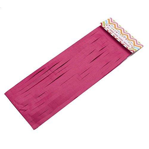 5 guirnaldas de papel con borlas para decoración de bodas y fiestas