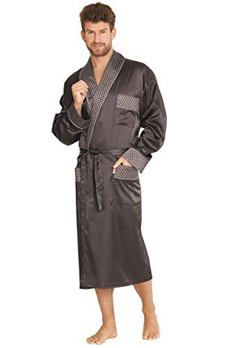 Forex Lingerie mooie en hoogwaardige satijnen badjas heren mantel in een geweldig design