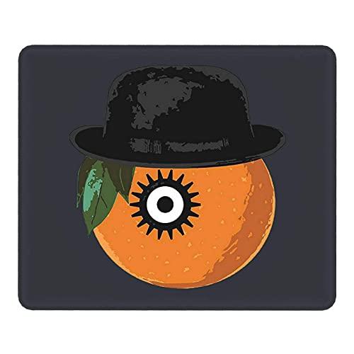 Clockwork Orange Anime Bhutan Gaming Mauspad – Mauspad mit genähten Kanten, strukturiertes Mauspad, rutschfeste Gummiunterlage Mauspad für Laptops, Büros, Computer und PCs (Schwarz)