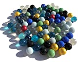 Fairy Tail & Glitzer Fee - Biglie di vetro colorate, 100 pezzi...