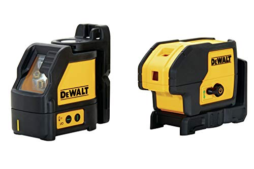 DEWALT Laser Level, 3 Spot + Cross Line, Green, 150-Foot Range (DW0883CG)