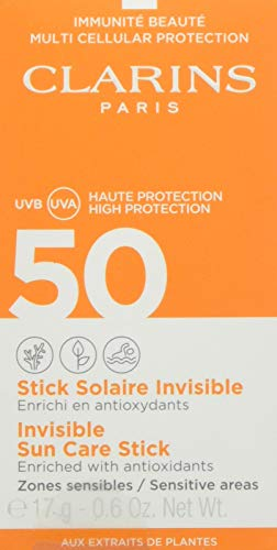 CLARINS Unisex SOL Stick SPF50 17GR, Negro, Standard