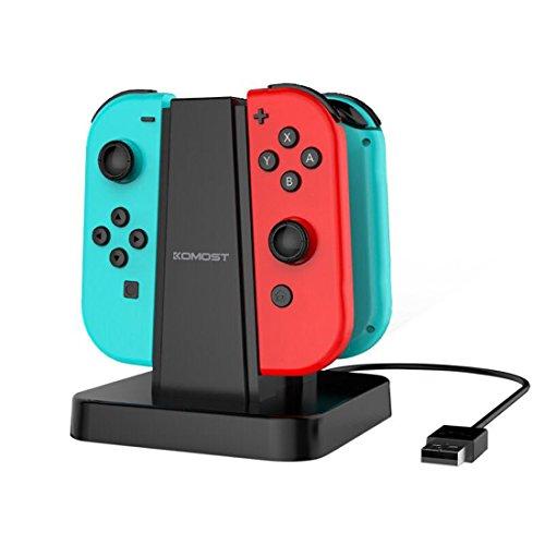 Preisvergleich Produktbild Komost Nintendo Switch Joy-Con Ladegeräte,  Ladestation