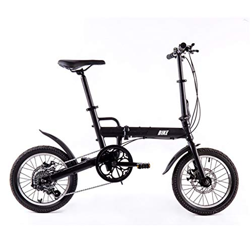 TYXTYX 16 Zoll Faltrad Folding Bike 6Gang Klapp Fahrrad,Metropolis Campingrad Citybike,Nabenschaltung klappräder für Erwachsene