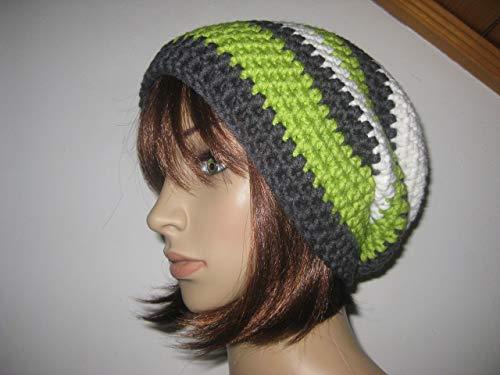 Mütze, Beanie im Boshi Style, Häkelmütze