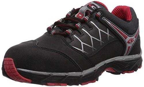 Cofra NEW RED EYE BLACK S3 - Calzado de protección unisex, Negro (schwarz), 42