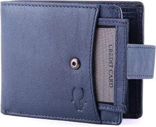 WILDHORN Blue Men's Wallet (WH472)
