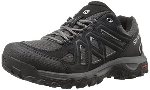 Salomon EVASION 2 AERO, Scarpe da hiking Uomo, Nero (Black/Magnet/Alloy), 42 EU