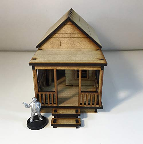 Shotgun House (a) 28mm Terrain The Walking Dead all Out War
