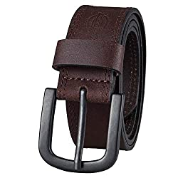 Dickies Men's Leather Jeans Belt Review