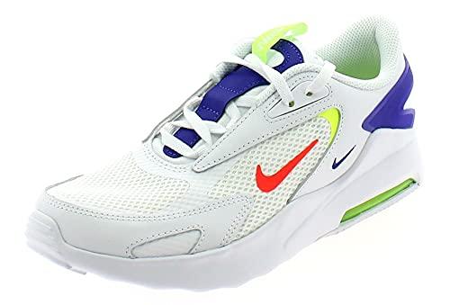 Nike Air Max Bolt (GS), Scarpe da Ginnastica, White/BRT Crimson-Volt-Indigo Burst, 37.5 EU