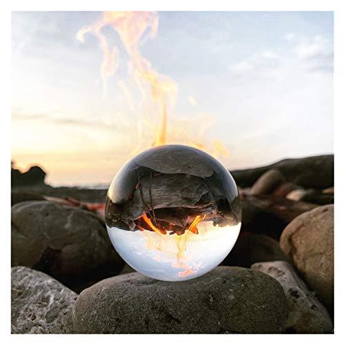 SHUWB Ornaments Decorative Home Accessories Balls-30mm-100mm Crystal Ball Quartz Glass Clear Ball Spheres Glass Ball Photography Balls Crystal Craft Decor Feng Shui Accessories