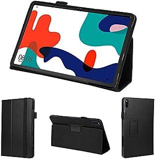 wisers 保護フィルム・タッチペン付き MatePad BAH3-L09 BAH3-W09 10.4 インチ Huawei ファーウェイ タブレット ケース カバー [2020 年 新型] ブラック
