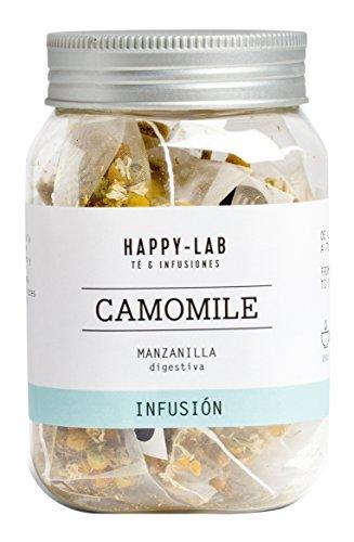 Happy-Lab Camomile Té Infusión - 14 pirámides