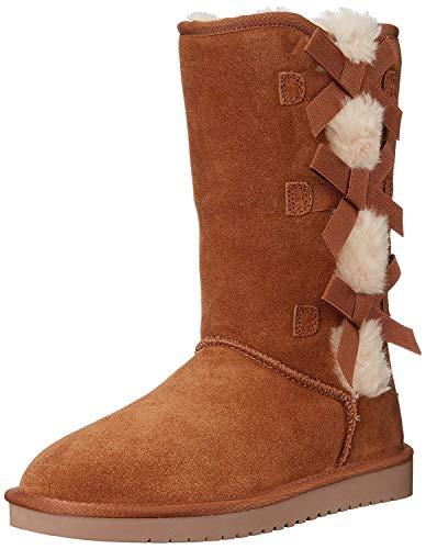 Koolaburra by UGG Women's Victoria Tall Classic Boot, Chestnut, 37 EU