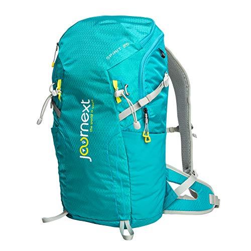 Journext Spirit 25 Rucksack, Wanderrucksack, Trekkingrucksack, 25 Liter, Unisex, leicht und stabil, Outdoorrucksack (Türkis)