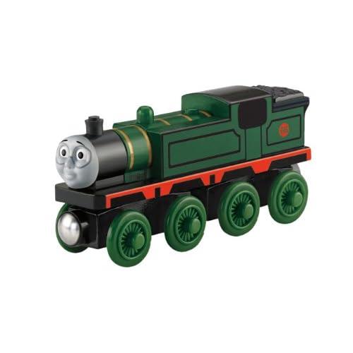 Mattel - Il trenino Thomas - Locomotiva in legno per piste ferroviarie