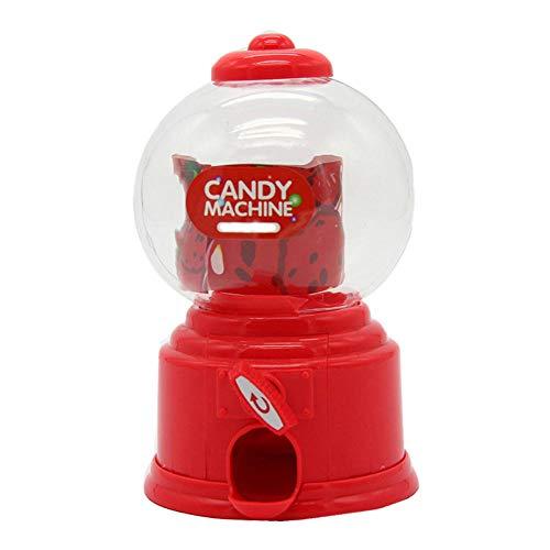 TWGDH Dulce Mini máquina de Dulces dispensador de Chicle Banco de Monedas Kids-1