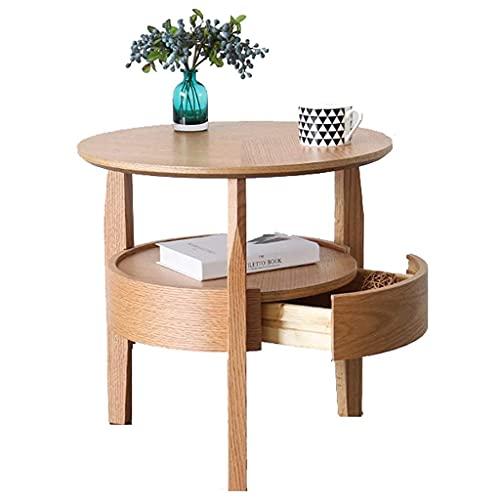 Soffbord Konsolbord Enkelt vardagsrum Runt bord Soffa Sidoskåp Sidobord Hem Tebord Nattbord
