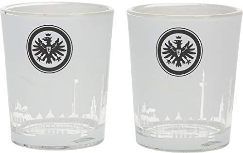 Eintracht Frankfurt Windlicht 2er-Set original Fanartikel Deko für jeden SGE Fan
