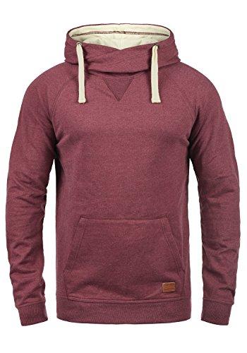 Blend Sales Herren Kapuzenpullover Hoodie Pullover mit Kapuze, Größe:M, Farbe:Zinfandel (73006)
