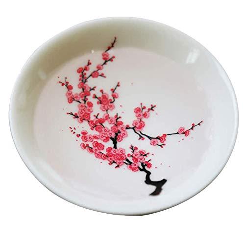 Sakura Wärme ändernde Tasse, wärmeempfindliche Tasse Drucken Blume ändert sich, wenn heiße oder kalte Farbe ändern Keramik Kaffeetasse Schüssel