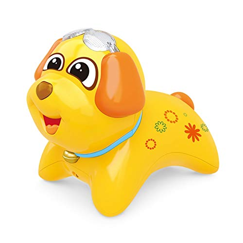 YYQIANG Micrófono de juguete para niños con micrófono inalámbrico para bebé, niño y niña, juguete recargable para pasatiempos (color: amarillo)