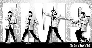 Desperate Enterprises Elvis Presley - King Montage Tin Sign, 16
