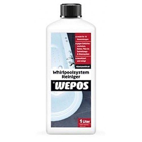 Wepos Whirlpoolsystem Reiniger 4 x 1 L Whirlpool Reinigung Whirlpoolreiniger