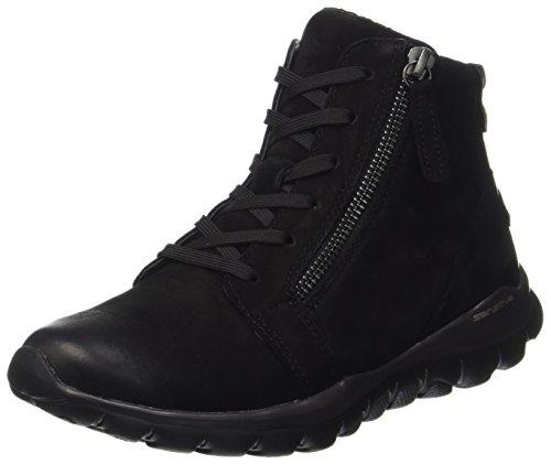 Gabor Shoes Damen Rollingsoft Stiefel, Schwarz (Schwarz (Mel.), 37.5 EU